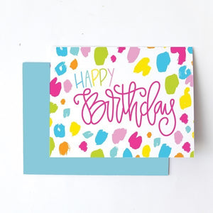Greeting Card Happy Birthday ASWN