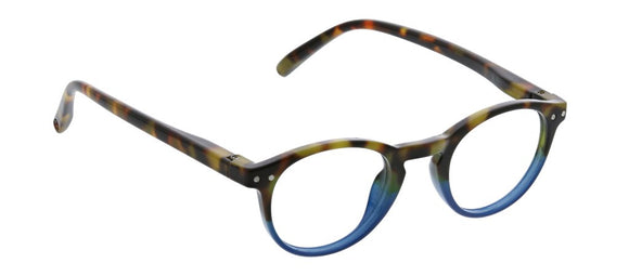 Peepers - Book Club Focus Blue/Tortoise