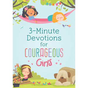 3-Minute Devotions for Courageous Girls