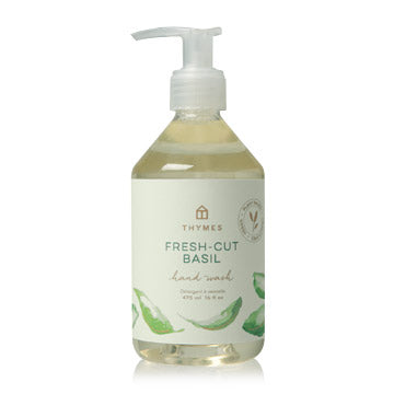 Fresh-Cut Basil Hand Wash