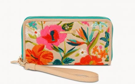 Moreland Embroidered 449 Wallet