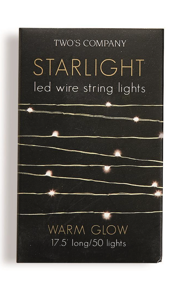 Starlight LED String Lights - Warm Glow
