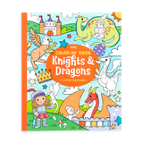 Color-in' Book : Knights & Dragons