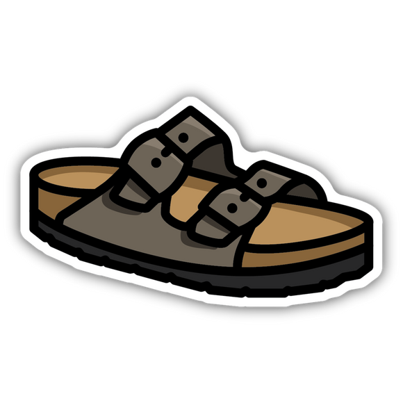 Leather Sandals Stickers