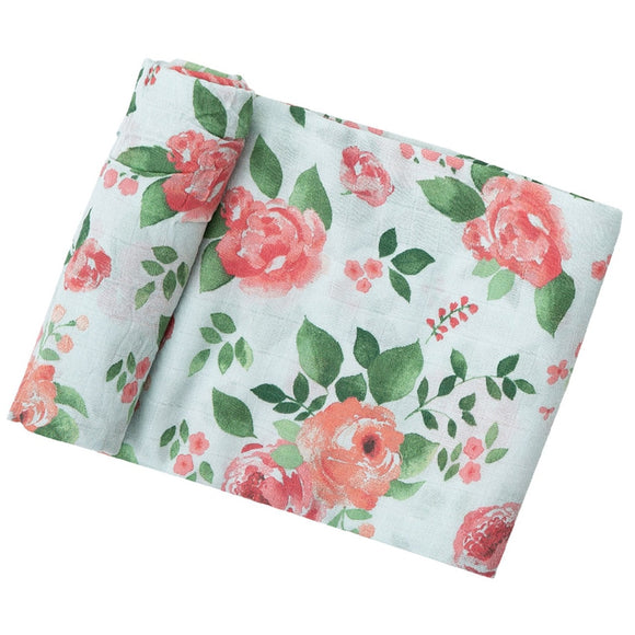 Rose Angel Dear Muslin Swaddle