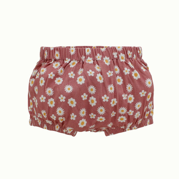 Rose Daisy Bamboo Baby Bloomers