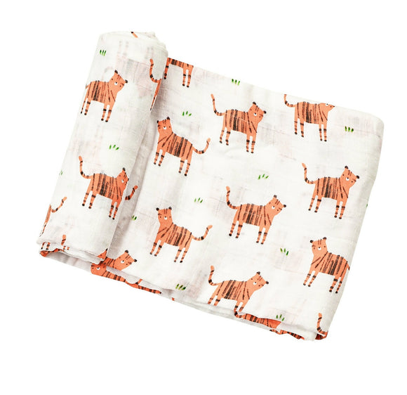 Tiger Angel Dear Muslin Swaddle