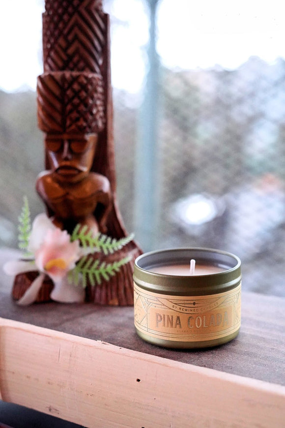 2.5oz Pina Colada Cocktail Candle
