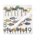 Dinosaur Magic Water Color-In Cards