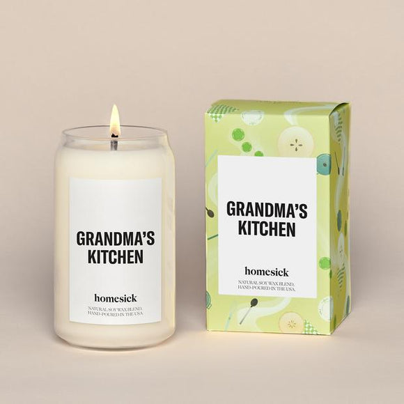 Grandma's Kitchen Homesick Candle