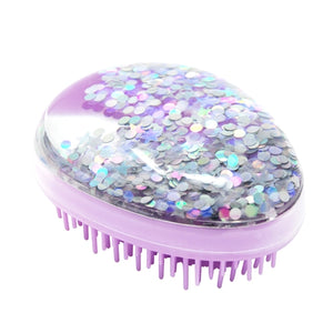 Purple Shimmer and Shine Detangling Brush