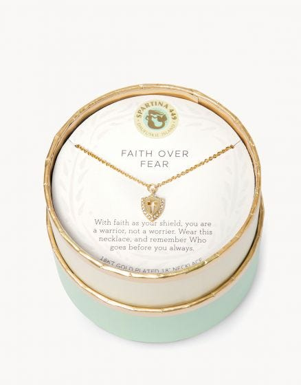 Faith Over Fear - SLV Necklace