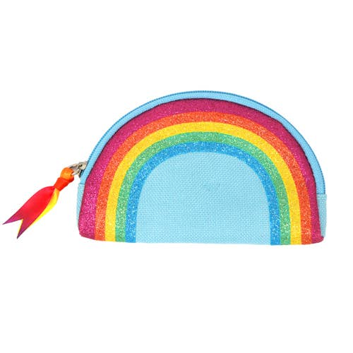 Blue Rainbow Magic Coin Purse