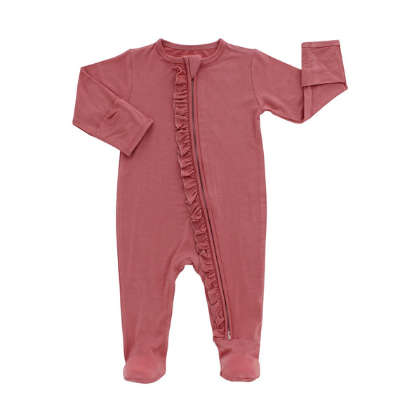 Rose Footed Romper Pajama
