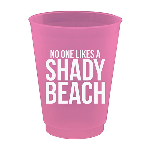 Shady Beach Cocktail Cups
