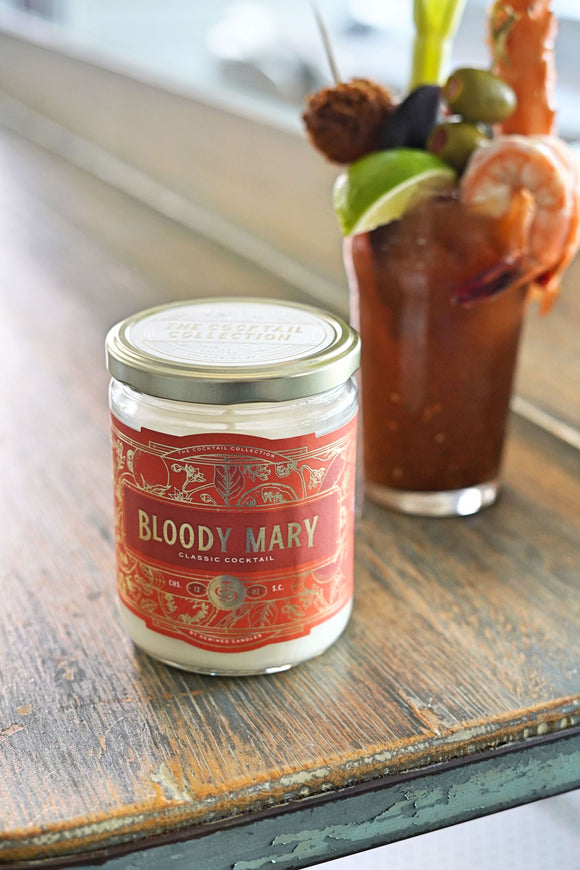 Bloody Mary Cocktail Candle