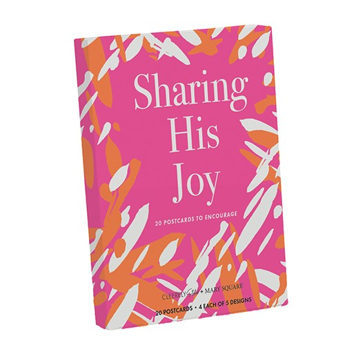 Sharing His Joy Postcards