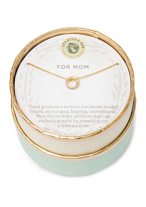 Mom Ring - SLV Necklace