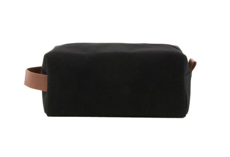 BLACK MENS KENTUCKY DOPP KIT