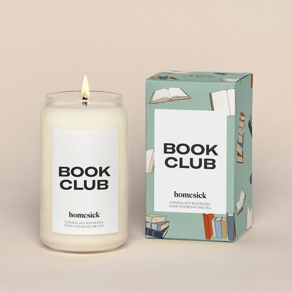Book Club Homesick Candle