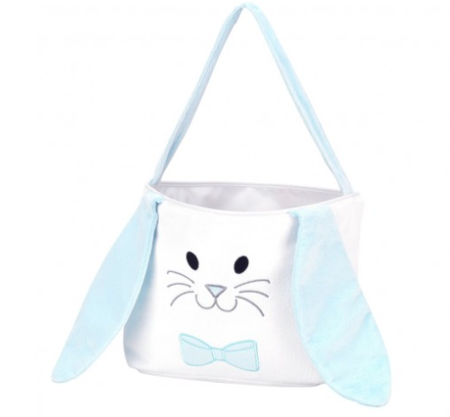 Blue Hippity Hoppity Easter Bucket