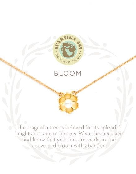 Bloom/Magnolia - SLV Necklace