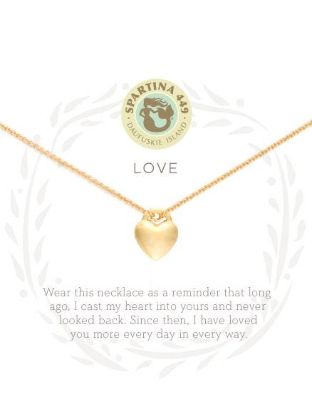 Love/Heart - SLV Necklace