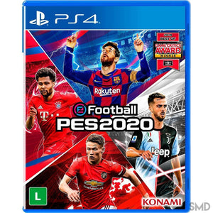 EFootball PES 2020 - Playstation 4 - Shop Mundo Digital