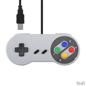 [variant_title] Controle Compatível USB Super Nintendo SNES [product_type] Shop Mundo Digital [variant_title] [option1] [option2] [option3]