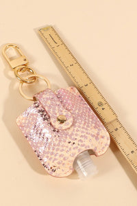 Mini Sanitizer Keychain