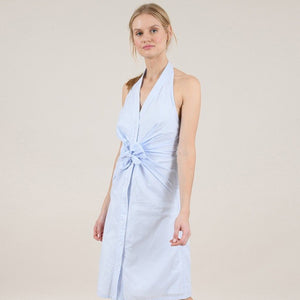 Boyfriend Halter Dress