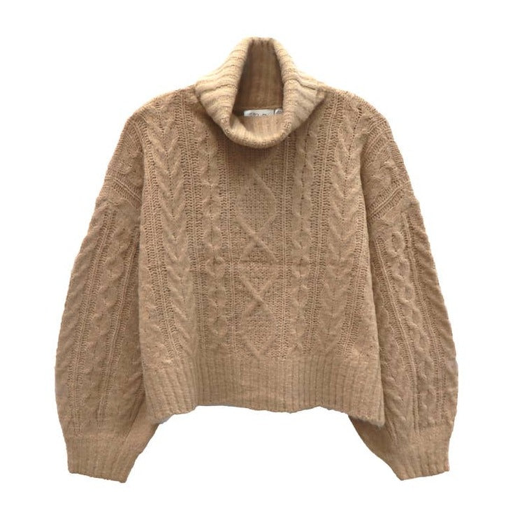 Irish Cream Sweater