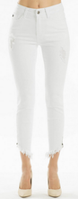 Load image into Gallery viewer, White Skinny Jean With Zipper Detail