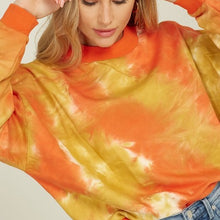 Load image into Gallery viewer, TieDye Mock Neck Sweater