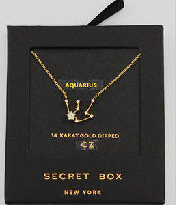Aquarius Necklace Star