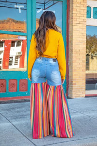 Serape Party Pants