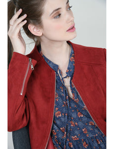 Terracotta Soft Touch Jacket
