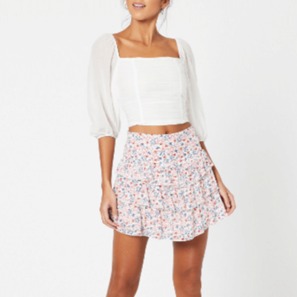 Heat Wave Mini Skirt