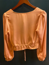 Load image into Gallery viewer, Le Lis Long Sleeve Button Front Top