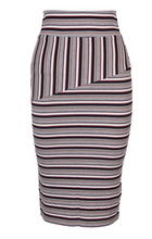 Load image into Gallery viewer, Jessa Contrast Midi Skirt