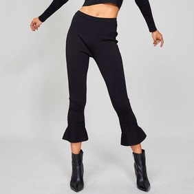 Flared Crop Pant