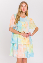 Load image into Gallery viewer, Tie-Dye Tiered Mini