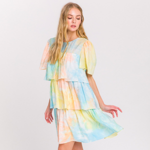 Tie-Dye Tiered Mini
