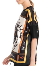 Load image into Gallery viewer, Scarf Print Top