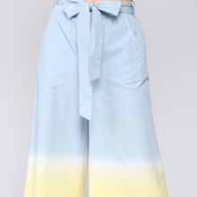 Load image into Gallery viewer, Dip Dye Culottes
