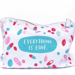 Everything Is Fine Pouch