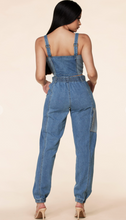 Load image into Gallery viewer, Two Tone Denim Top