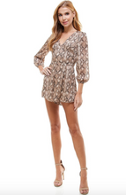 Load image into Gallery viewer, Snakeskin Romper