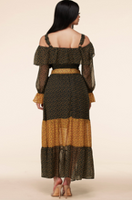 Load image into Gallery viewer, Ditsy Midi Skirt