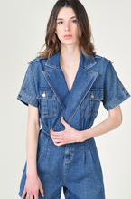 Load image into Gallery viewer, Denim Playsuit